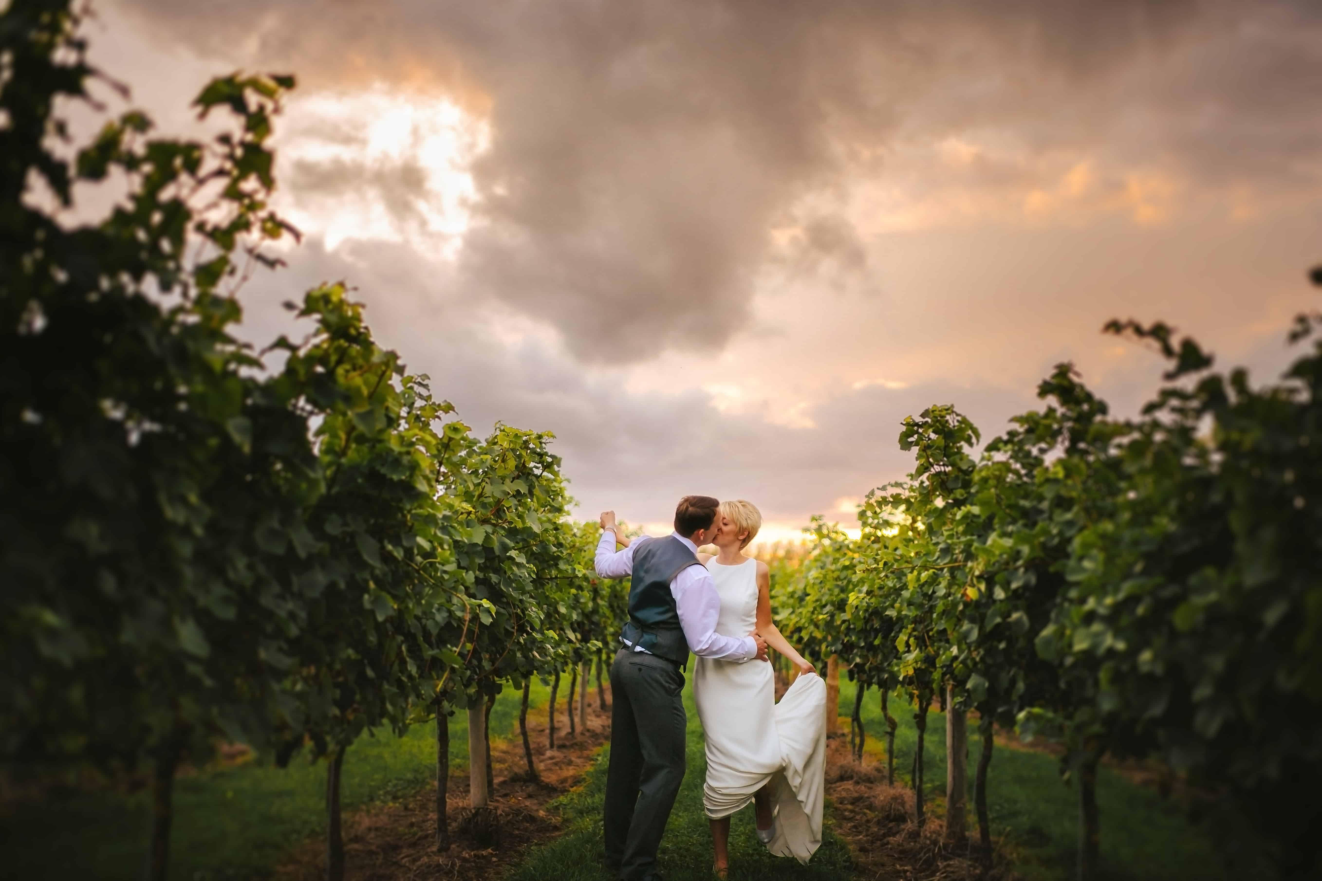 Vineyard Wedding at Aldwick Court