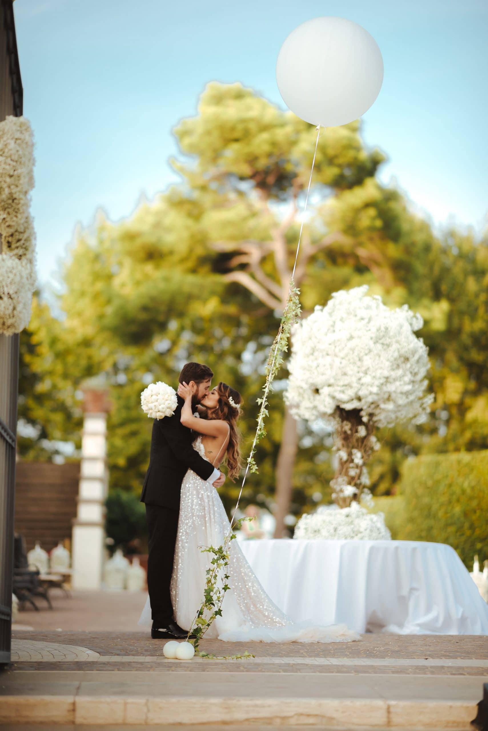 Villa Miani wedding photo